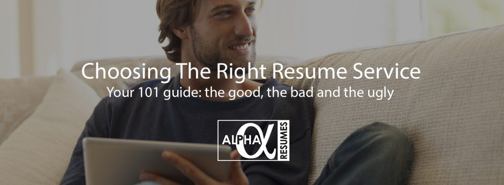 Blog post Choosing the right resume service